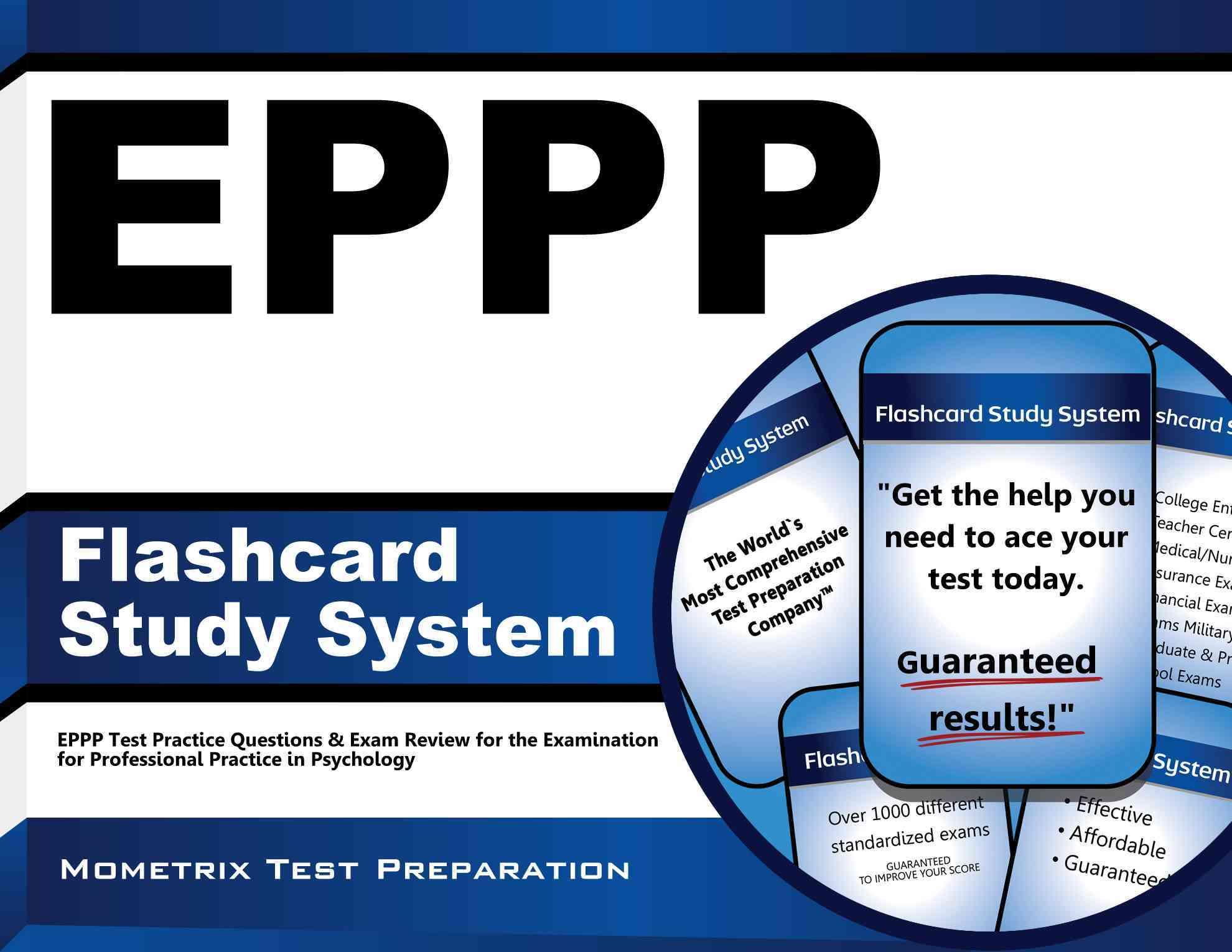 Eppp Flashcard Study System By Eppp Exam Secrets (EDT)